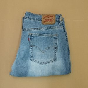 Levi's 505 straight leg relaxed jean